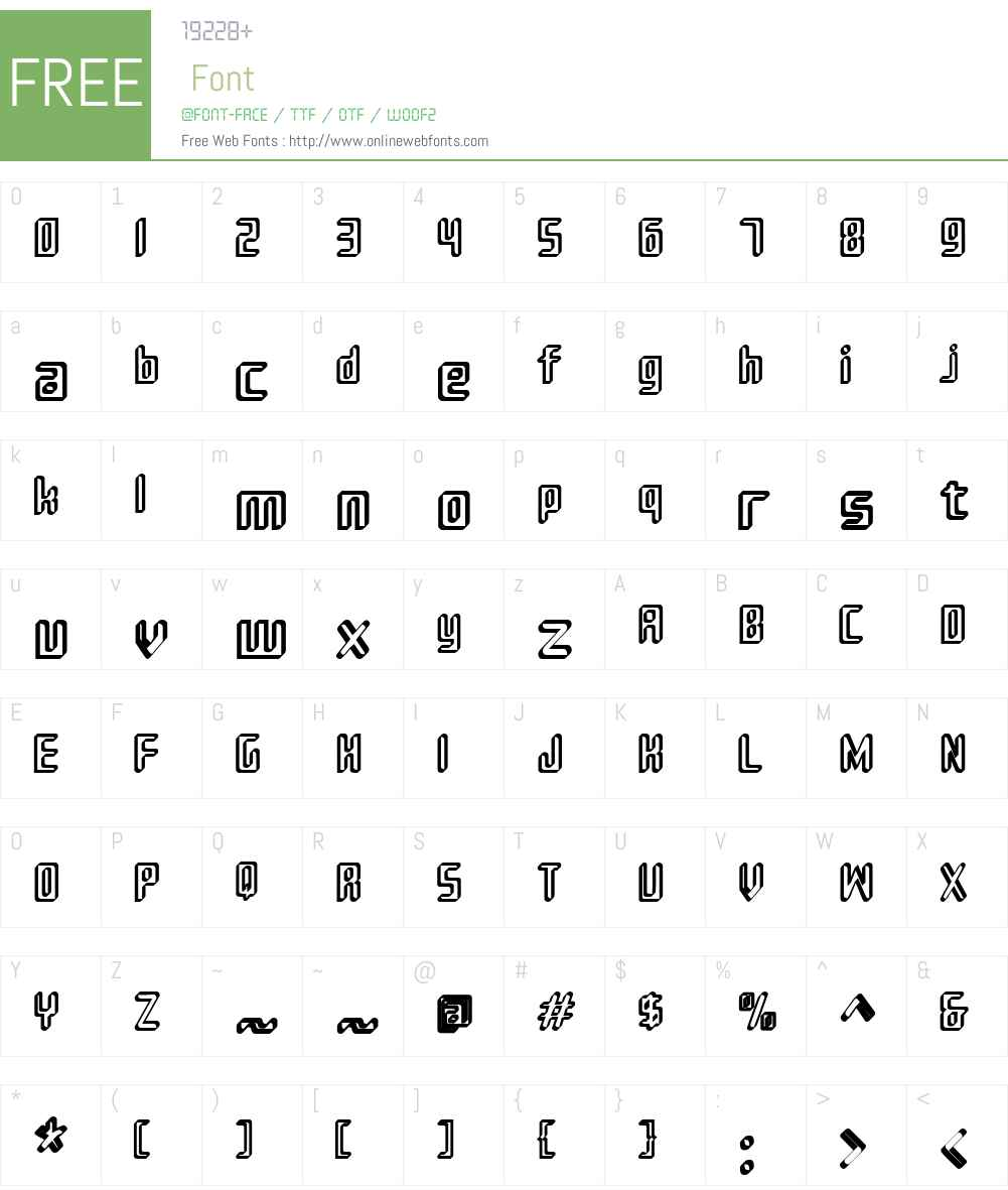 Sujeta 3D Font Screenshots