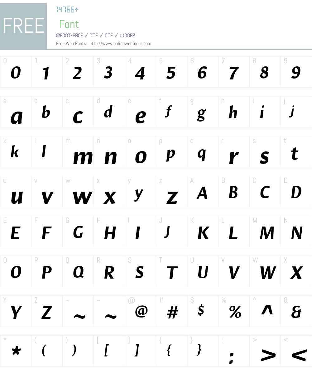 Hildegard LT Std Font Screenshots