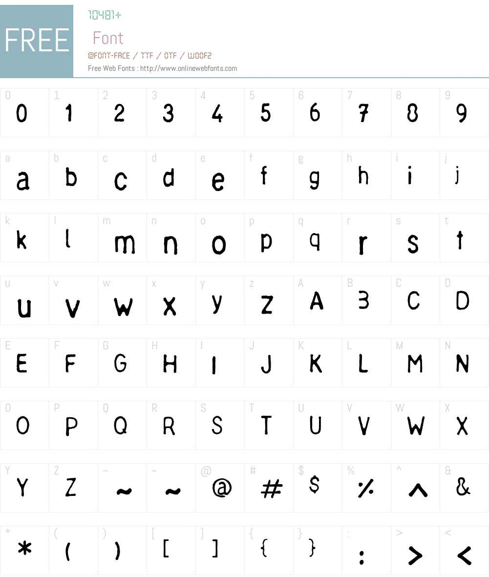 Chinese Ruler Font Screenshots