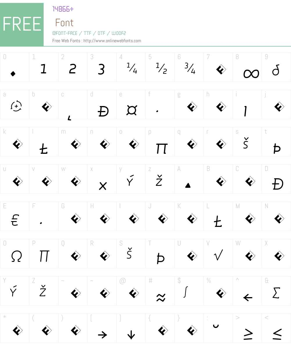 Roice-LightItalicSCExpert Font Screenshots