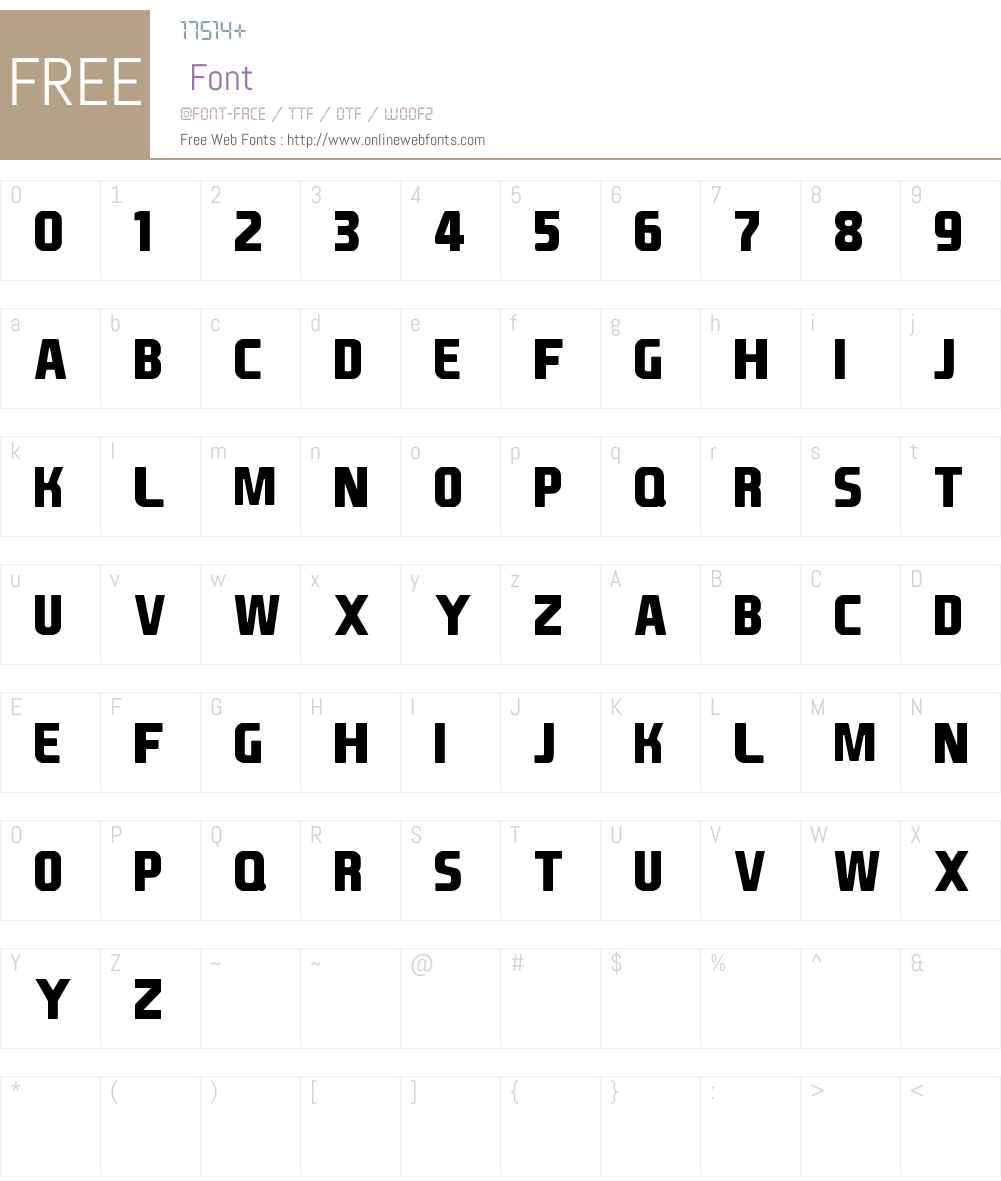 EA Font v1.5 by Ghettoshark Font Screenshots