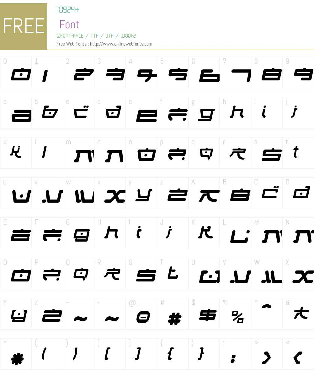 Fung Foo Font Screenshots