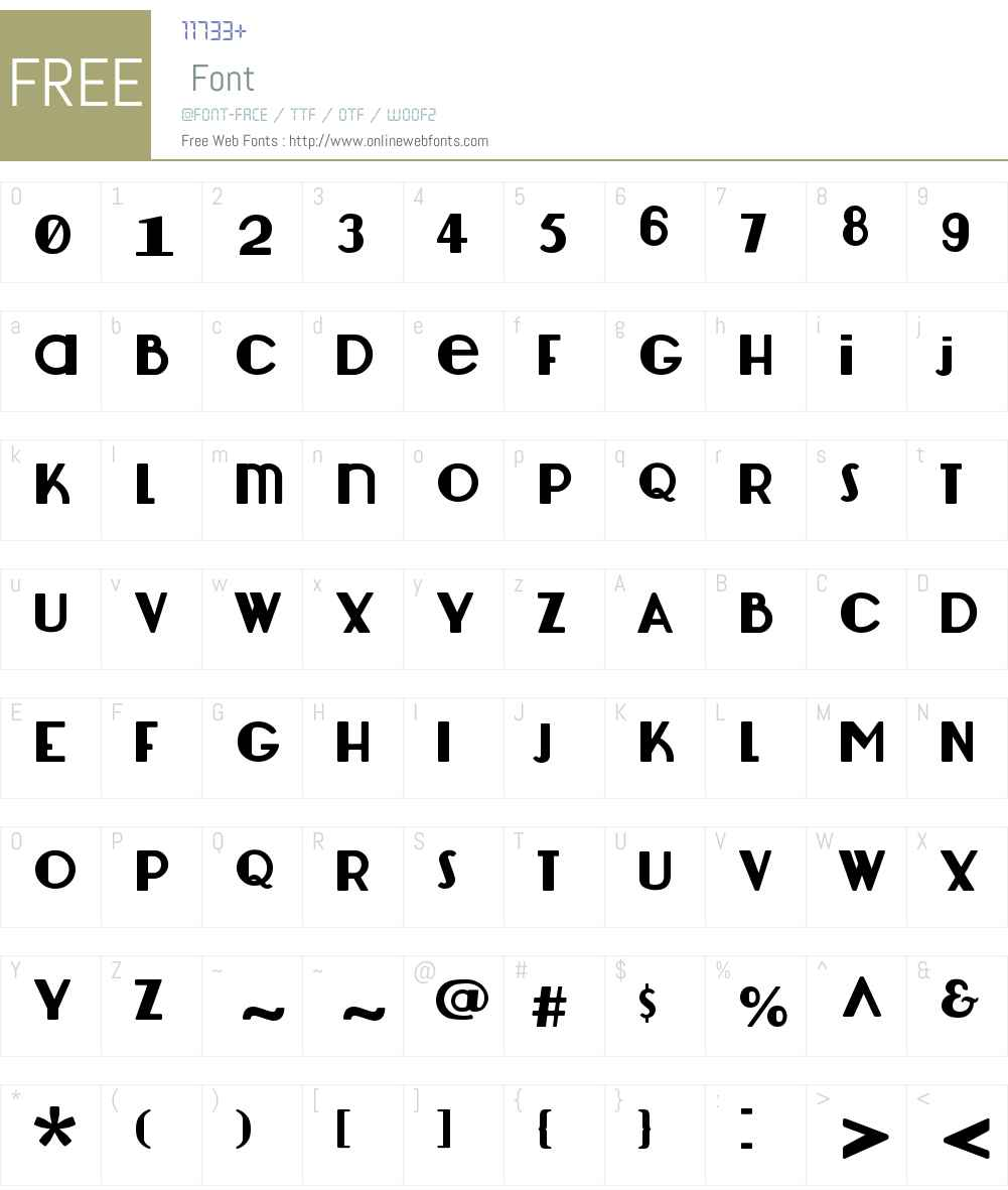 Lemondrop Font Screenshots