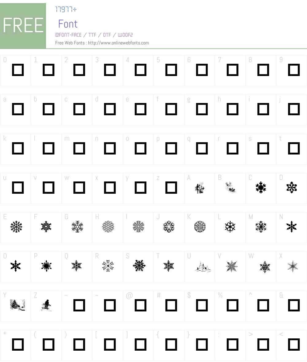 MarshMallow World Font Screenshots