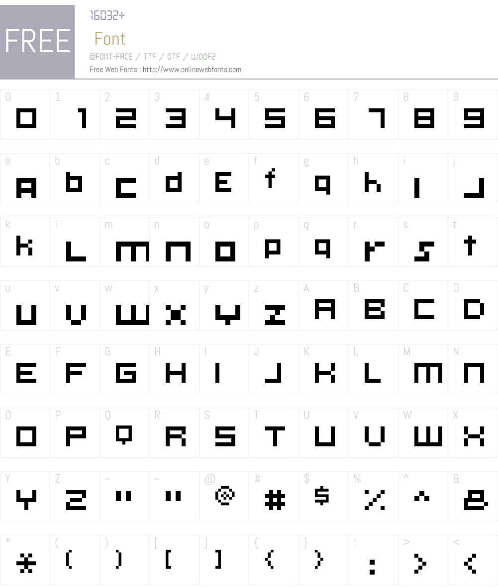 KLMN Ontology Font Screenshots