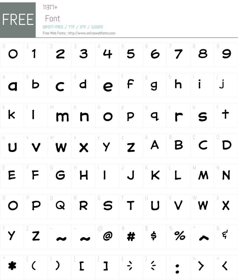 CCSamaritanLowerW00-Regular Font Screenshots