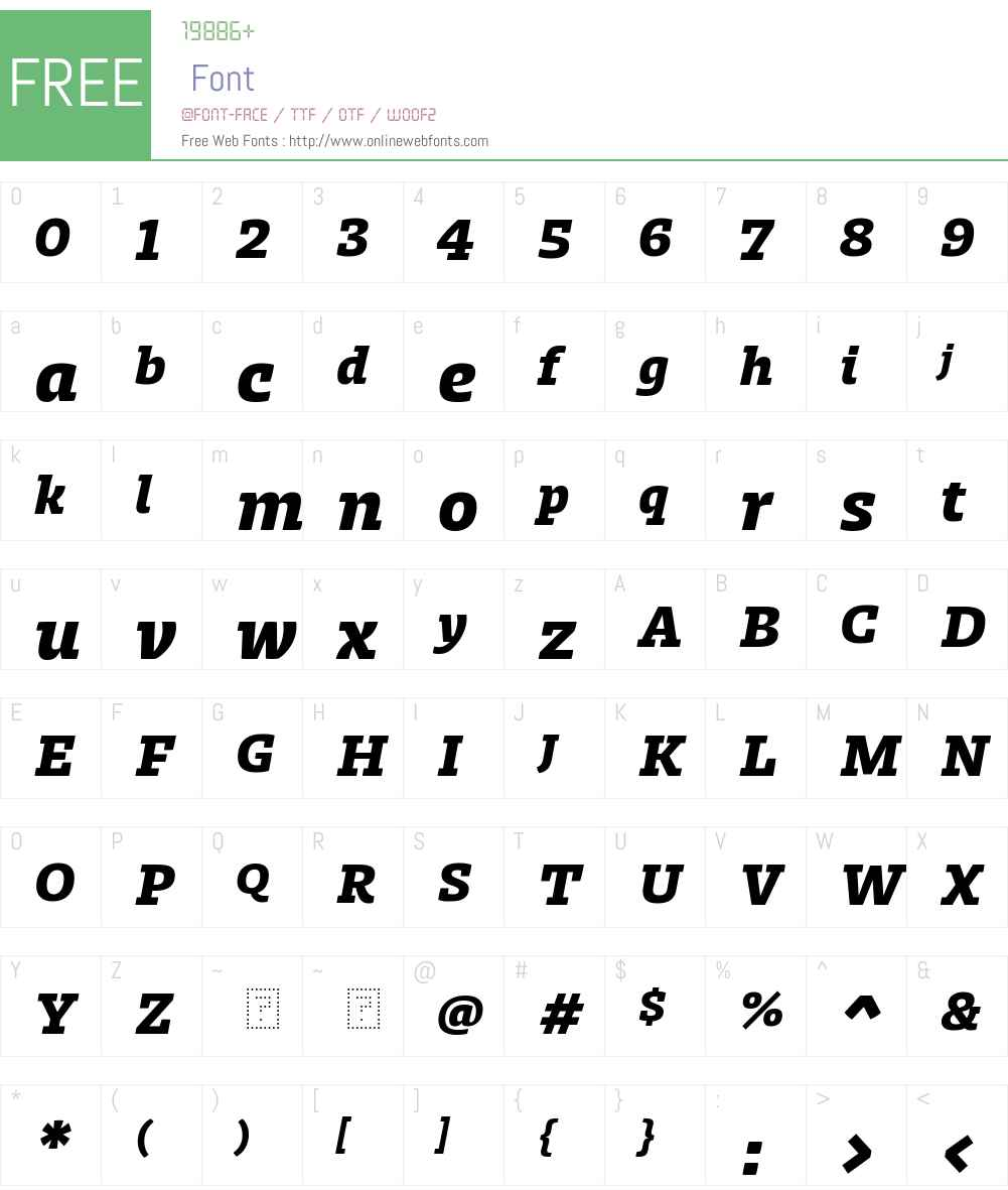 db3ec212f55d7b2a - subset of Zico Std Hea Font Screenshots