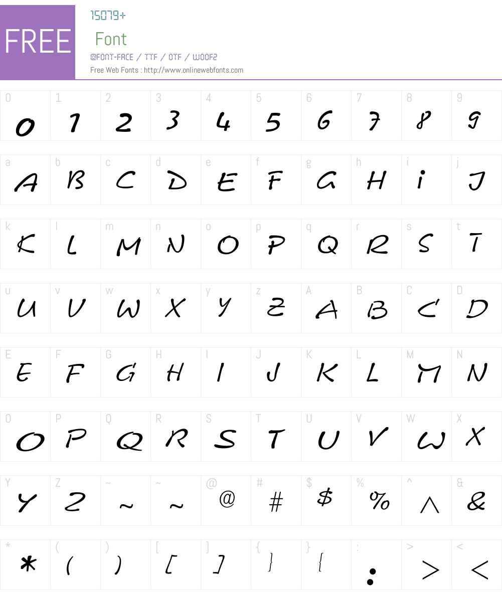 Ileobelix Font Screenshots