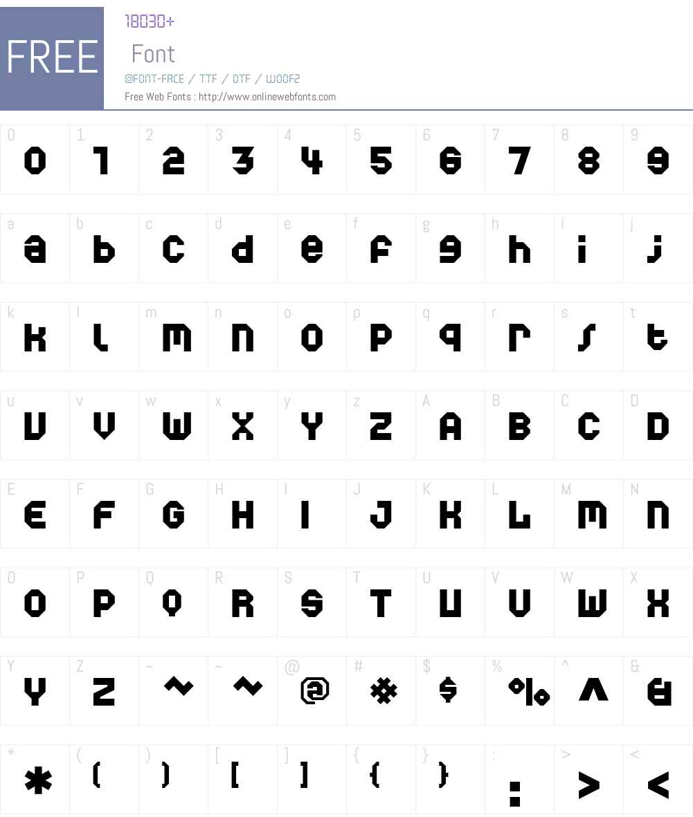 World Font Screenshots
