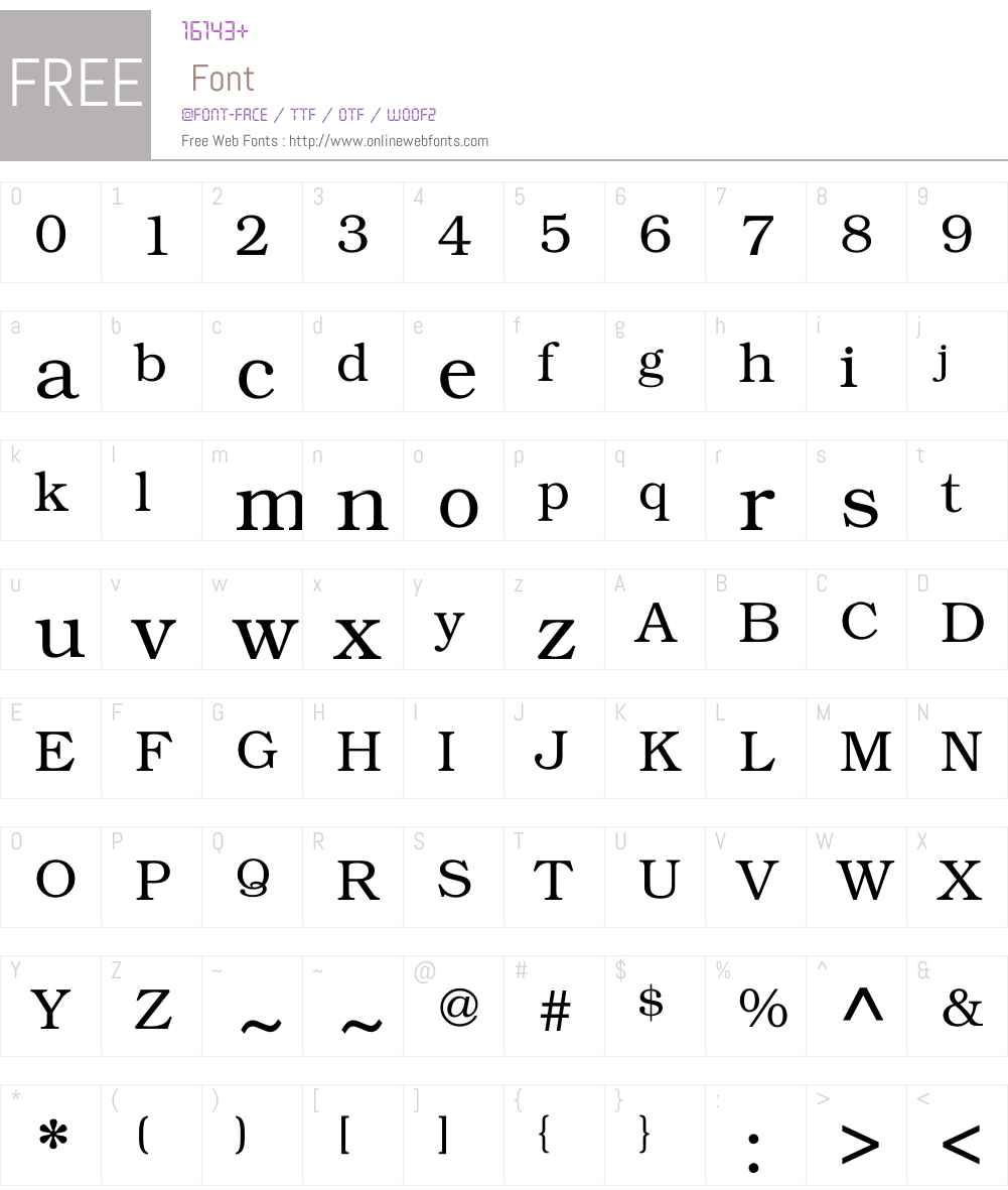 KacstDigital Font Screenshots