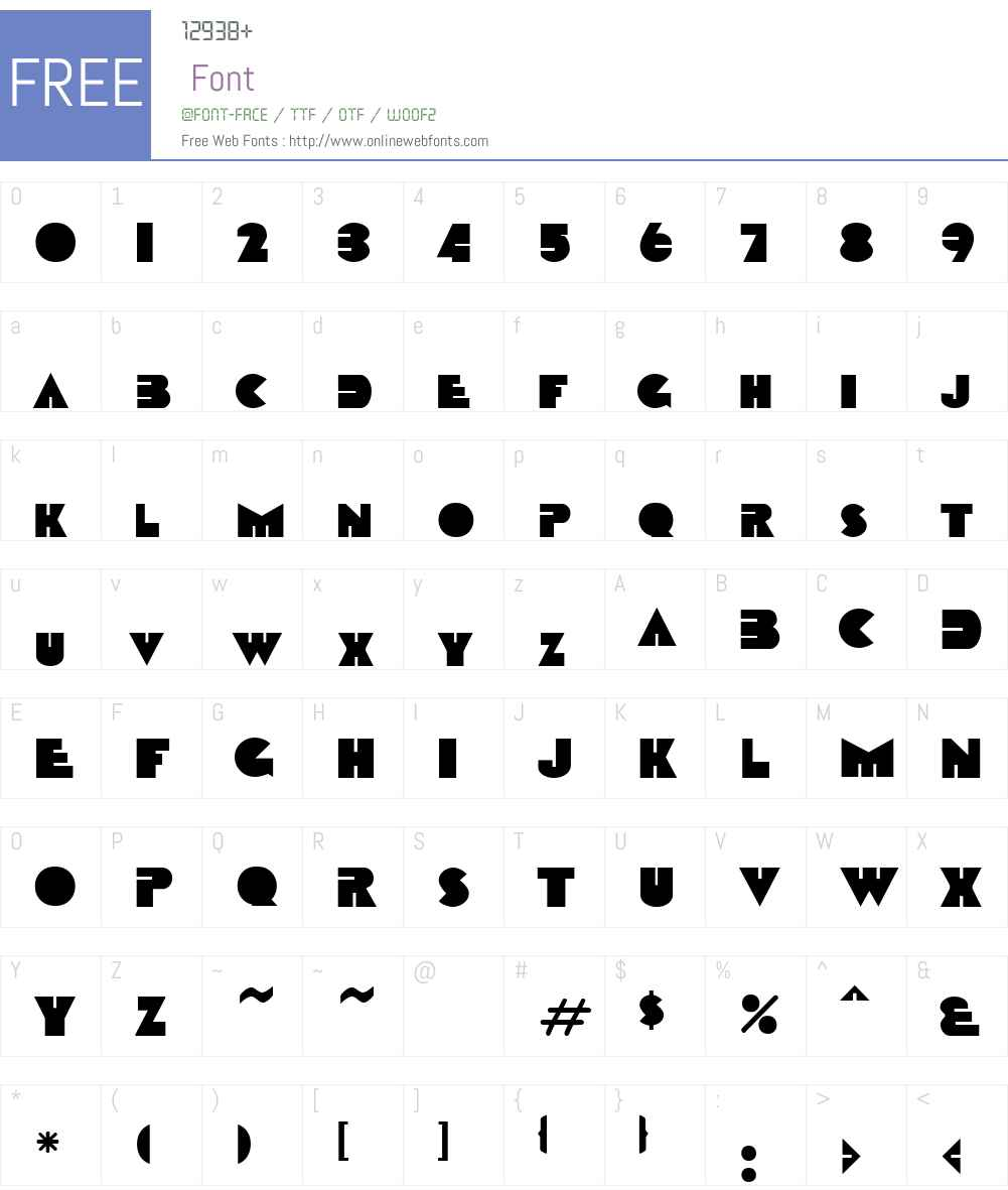 Circular FC Font Screenshots