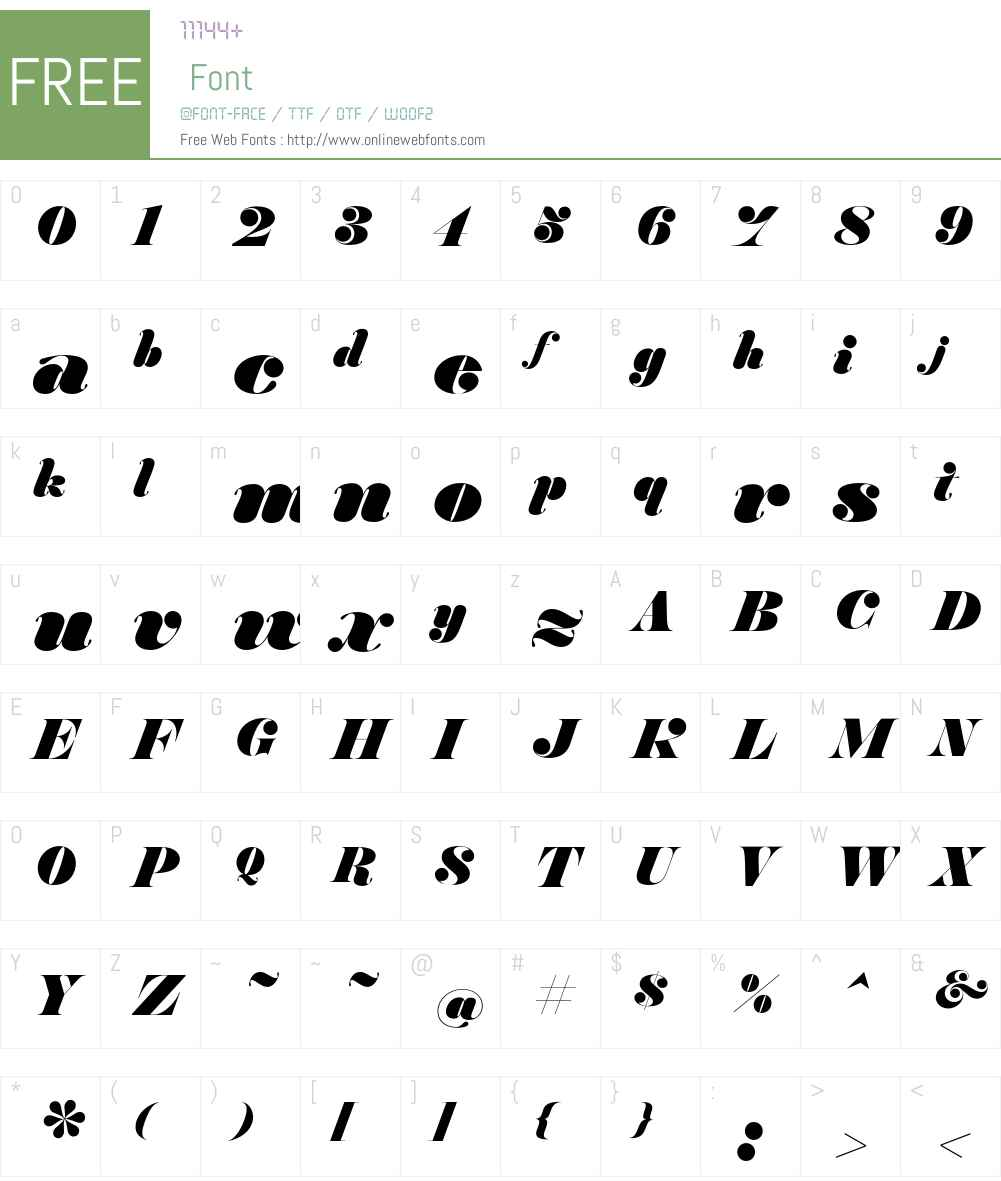 Hera Big Font Screenshots