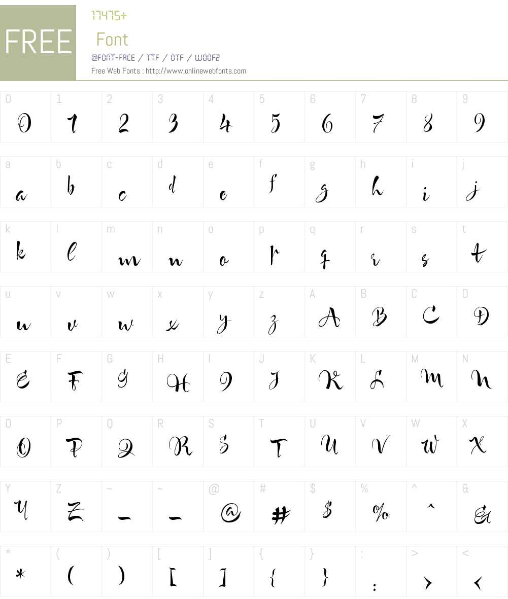 DespeinadaW00-Regular Font Screenshots
