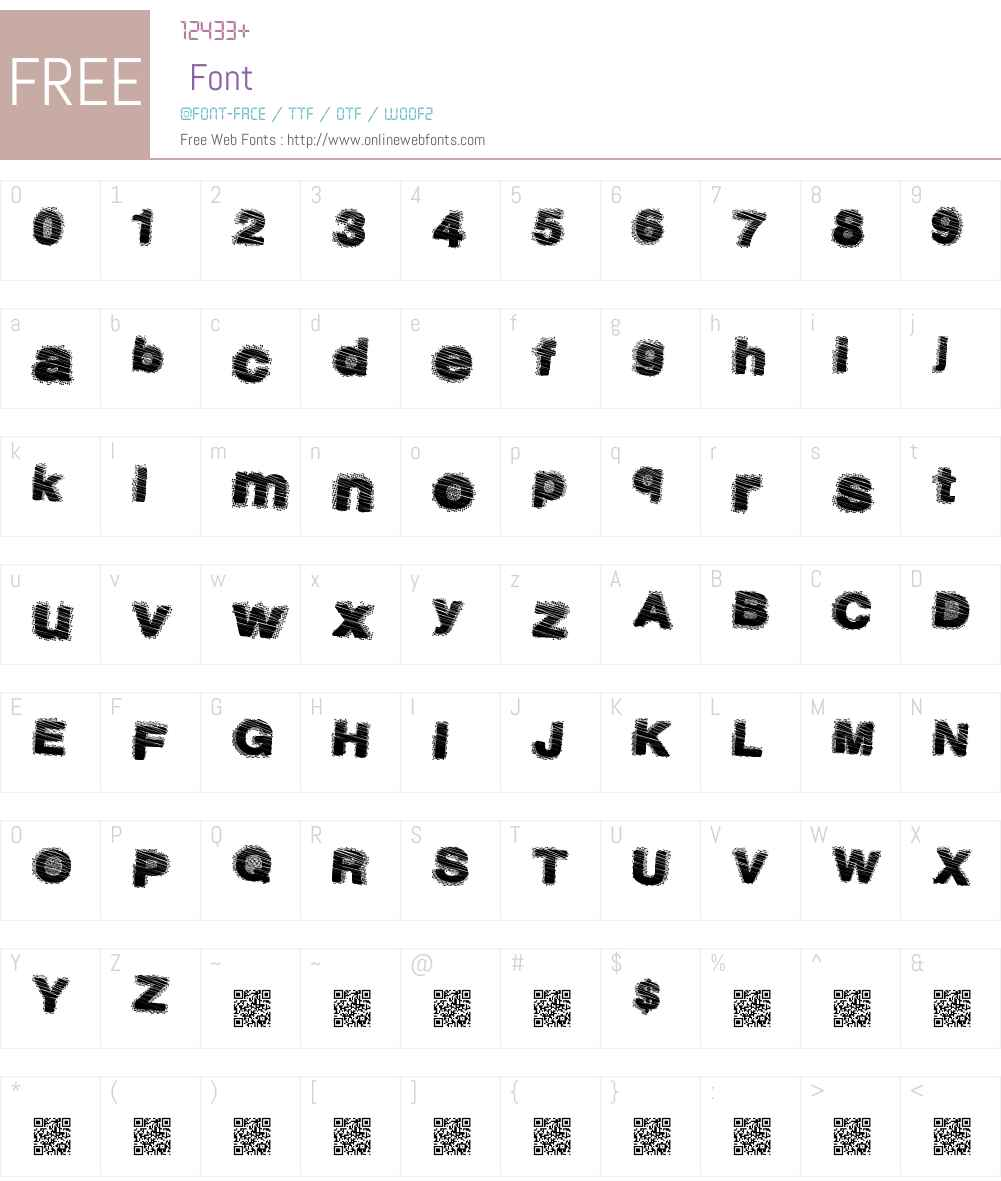 DustySalmon Font Screenshots