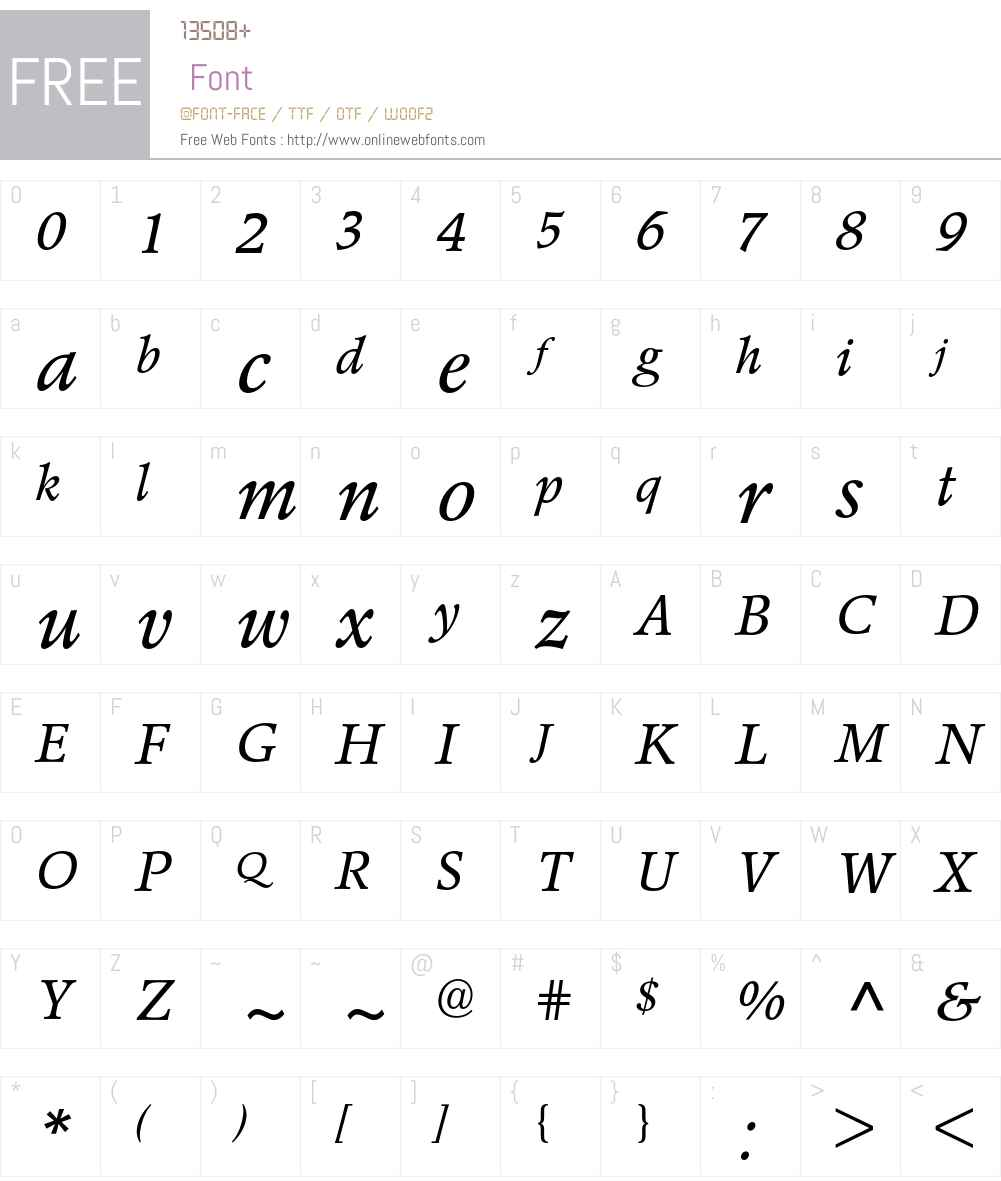 Poppl-Pontifex BE Font Screenshots