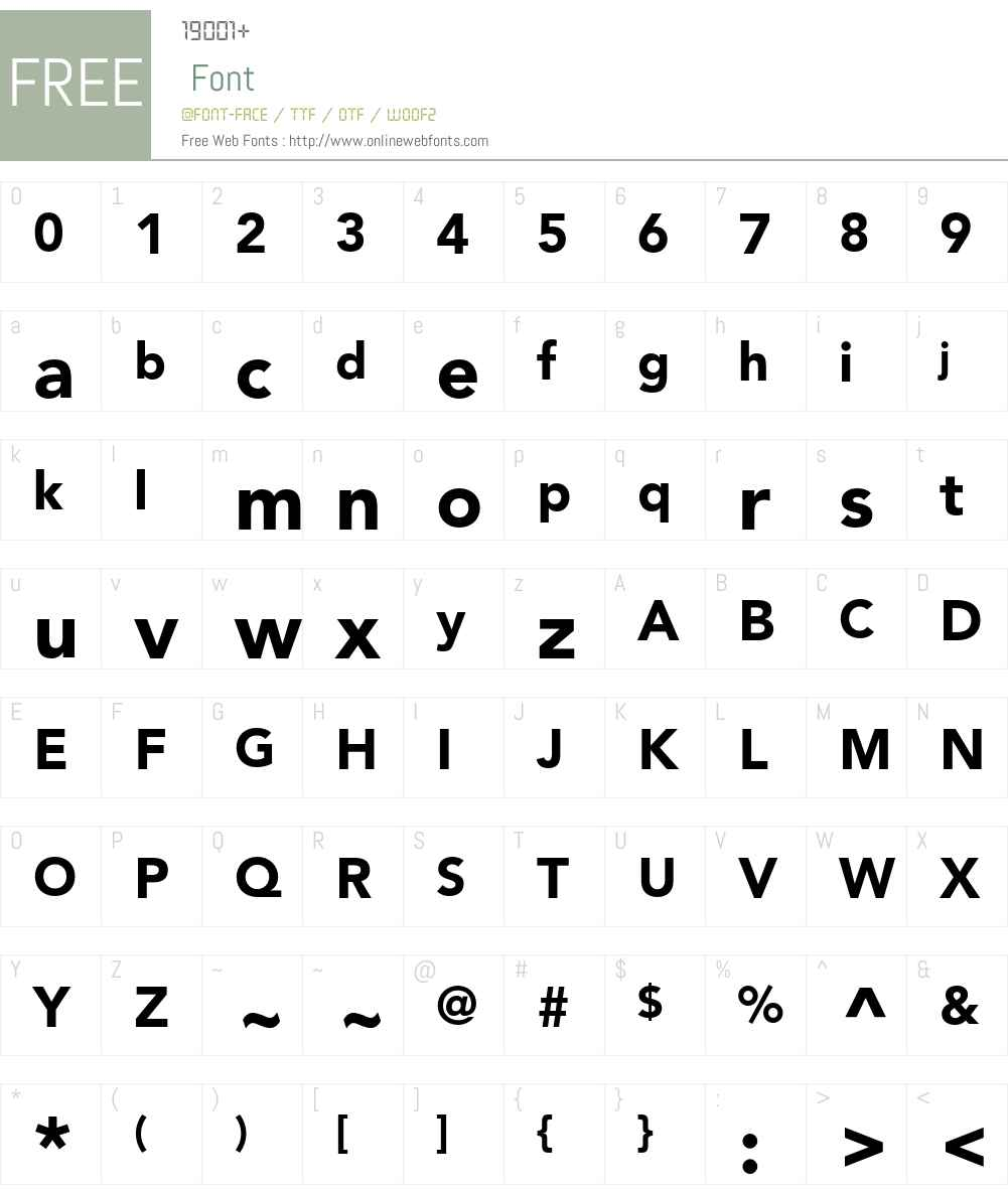 Avenir LT Std Font Screenshots