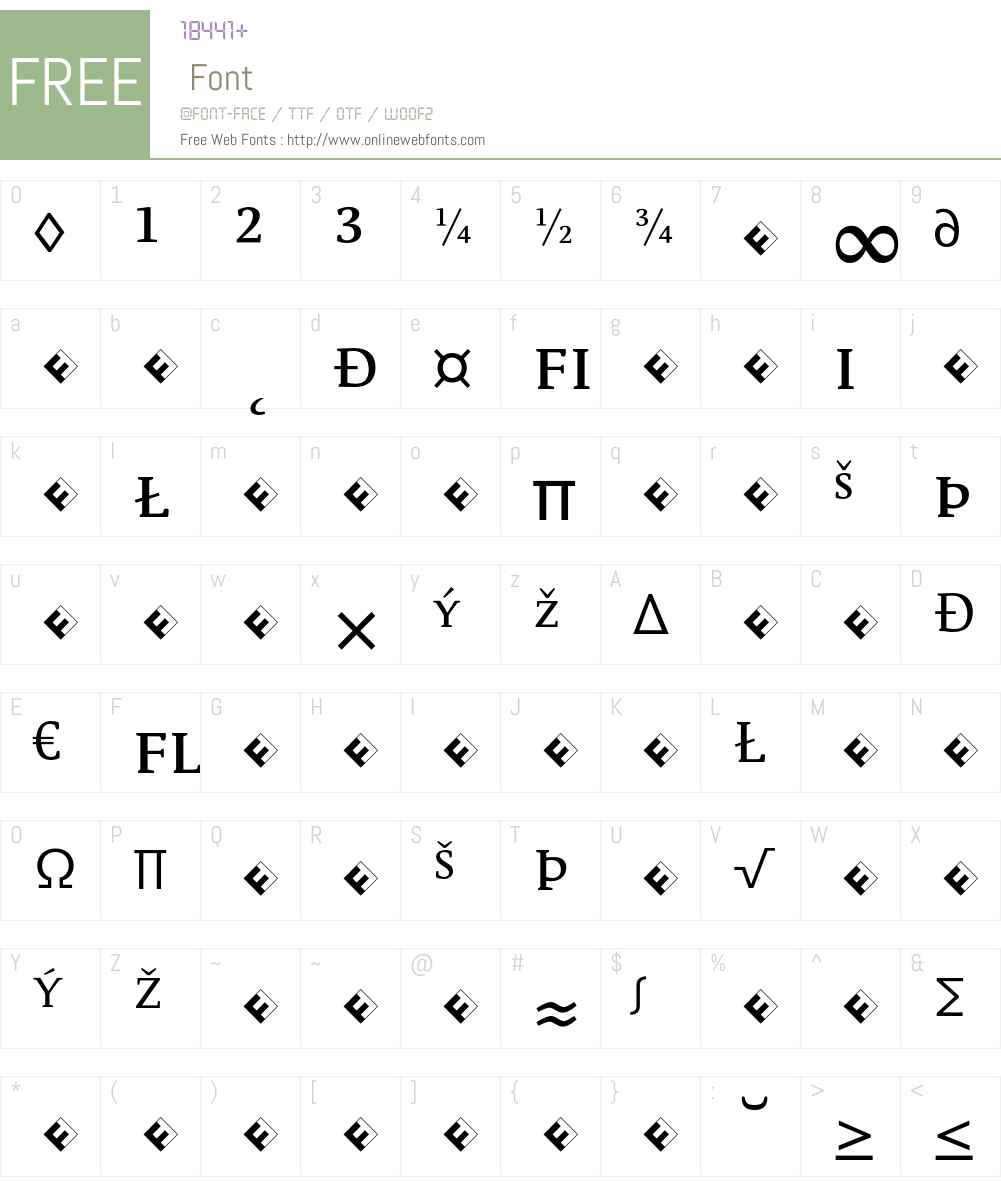 Parable-RegularSCExpert Font Screenshots