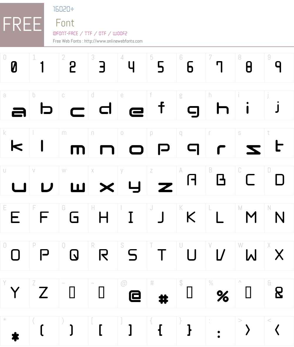 linernix Font Screenshots
