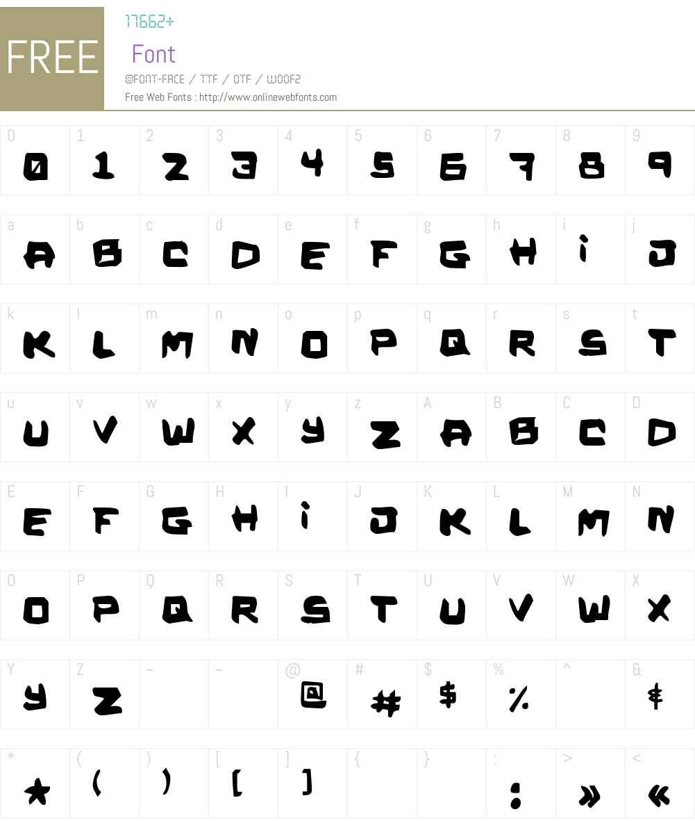 Kalystrine Font Screenshots