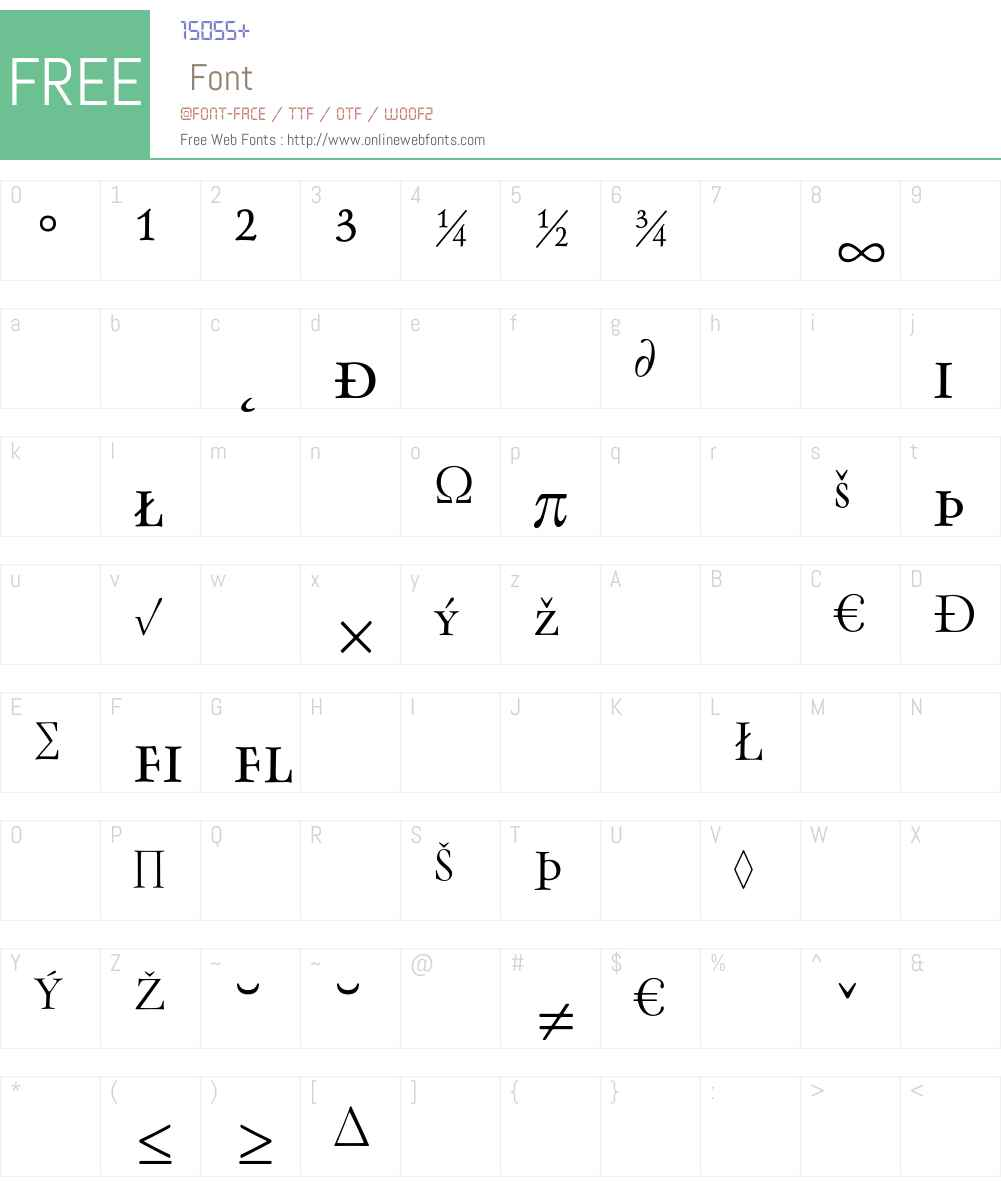 Oneleigh Font Screenshots