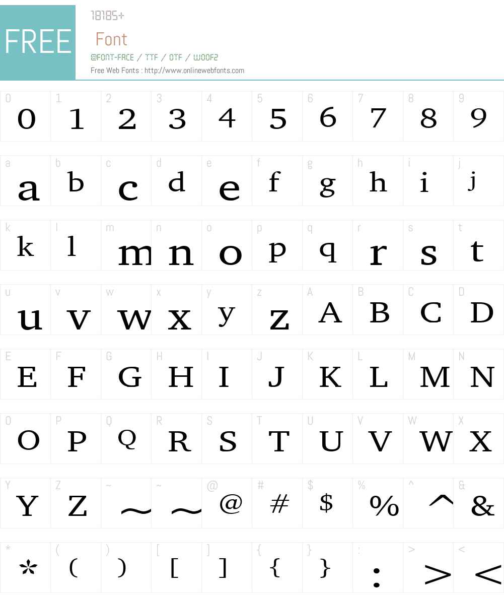Challenge Wide Font Screenshots