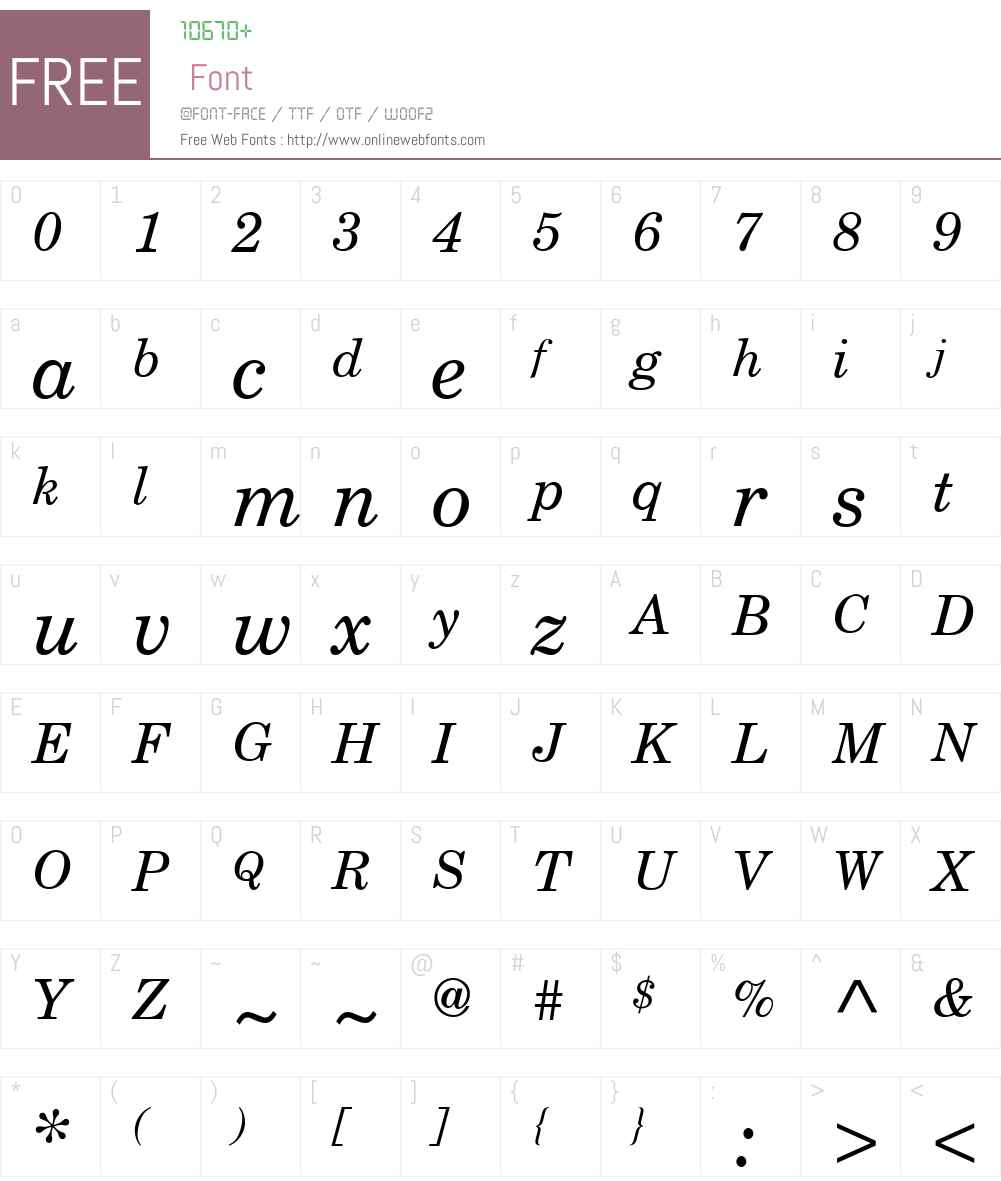 Century Schoolbook Reprise SSi Font Screenshots
