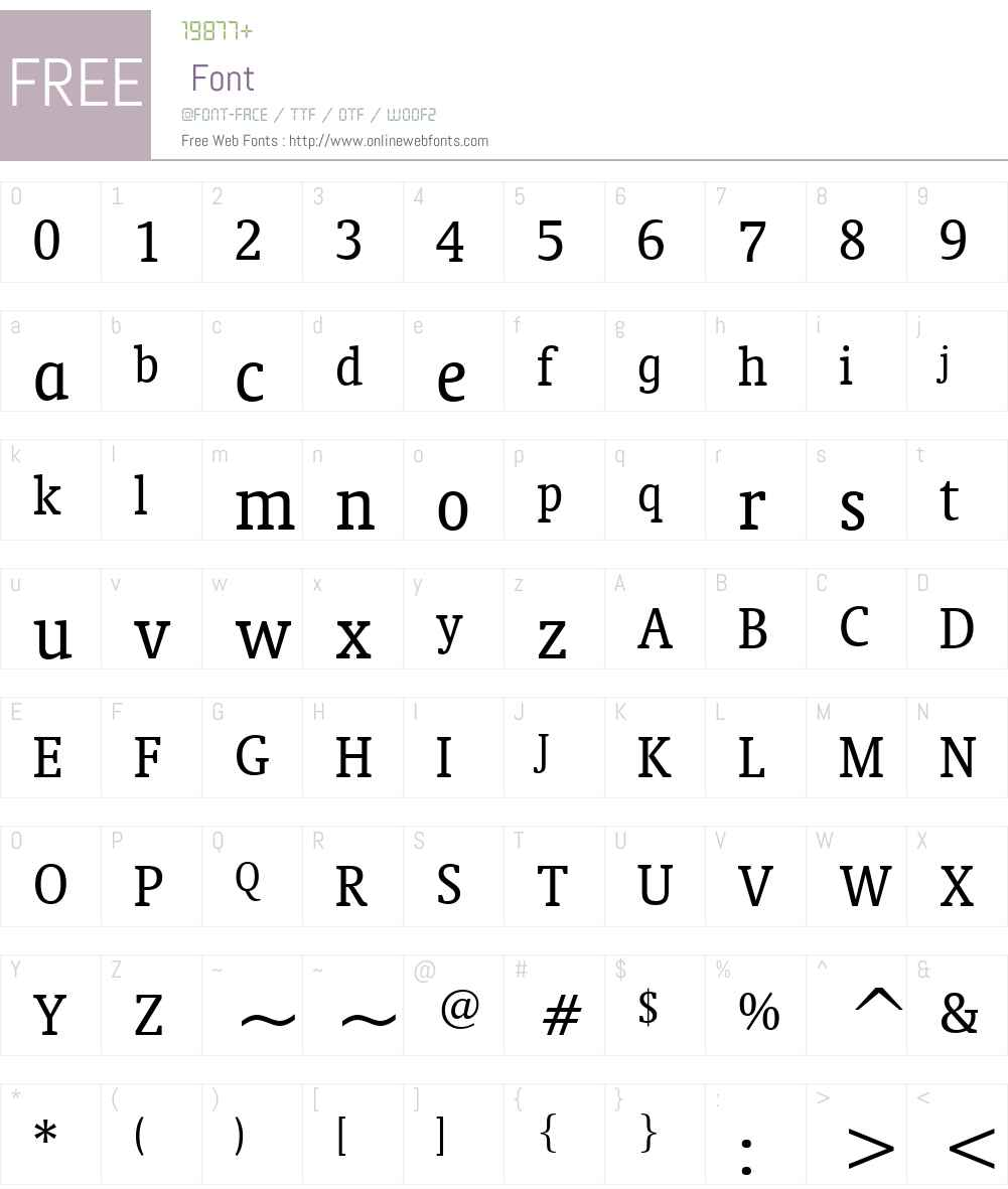 Oranda Cn BT Font Screenshots