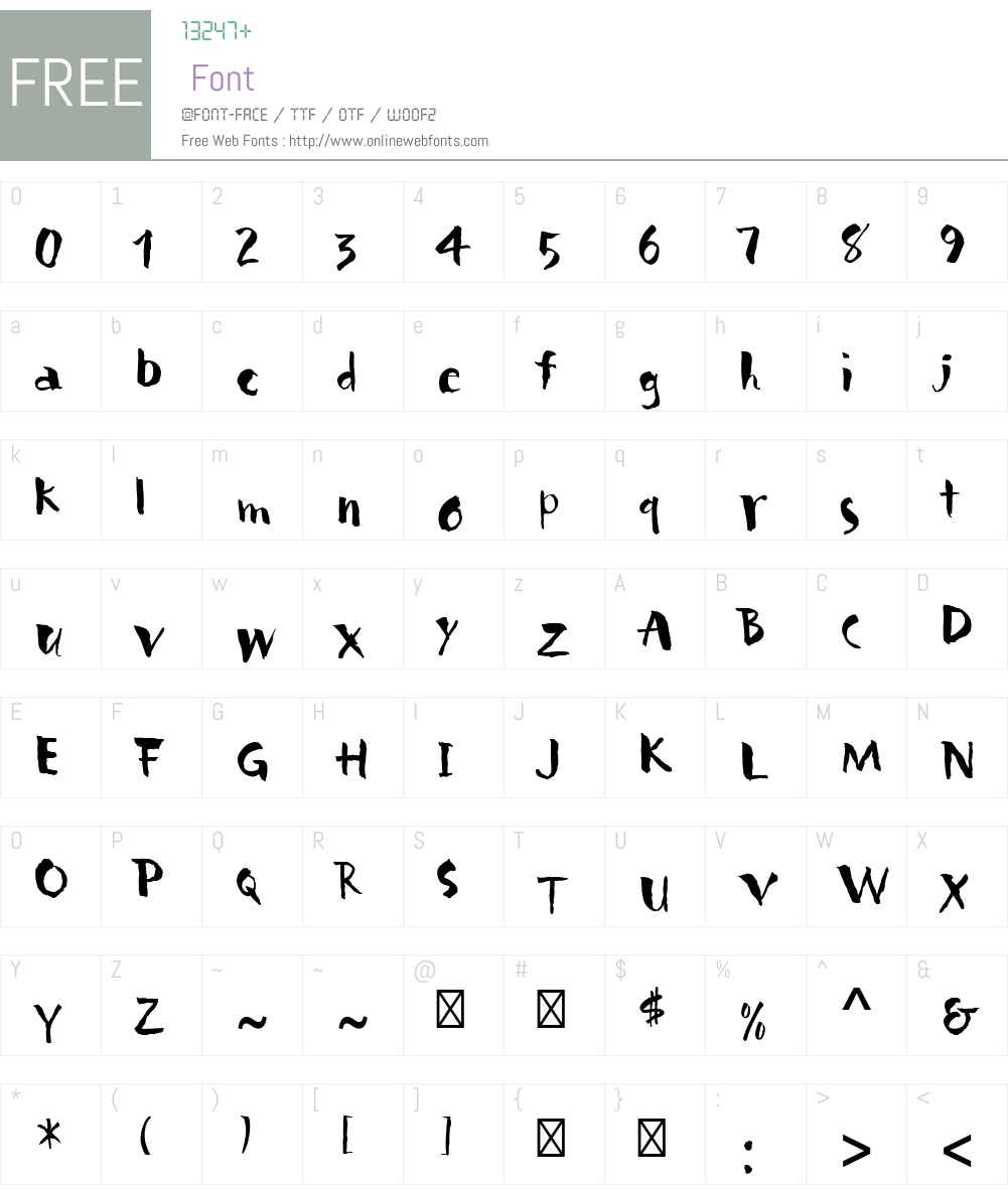 Carumba Font Screenshots