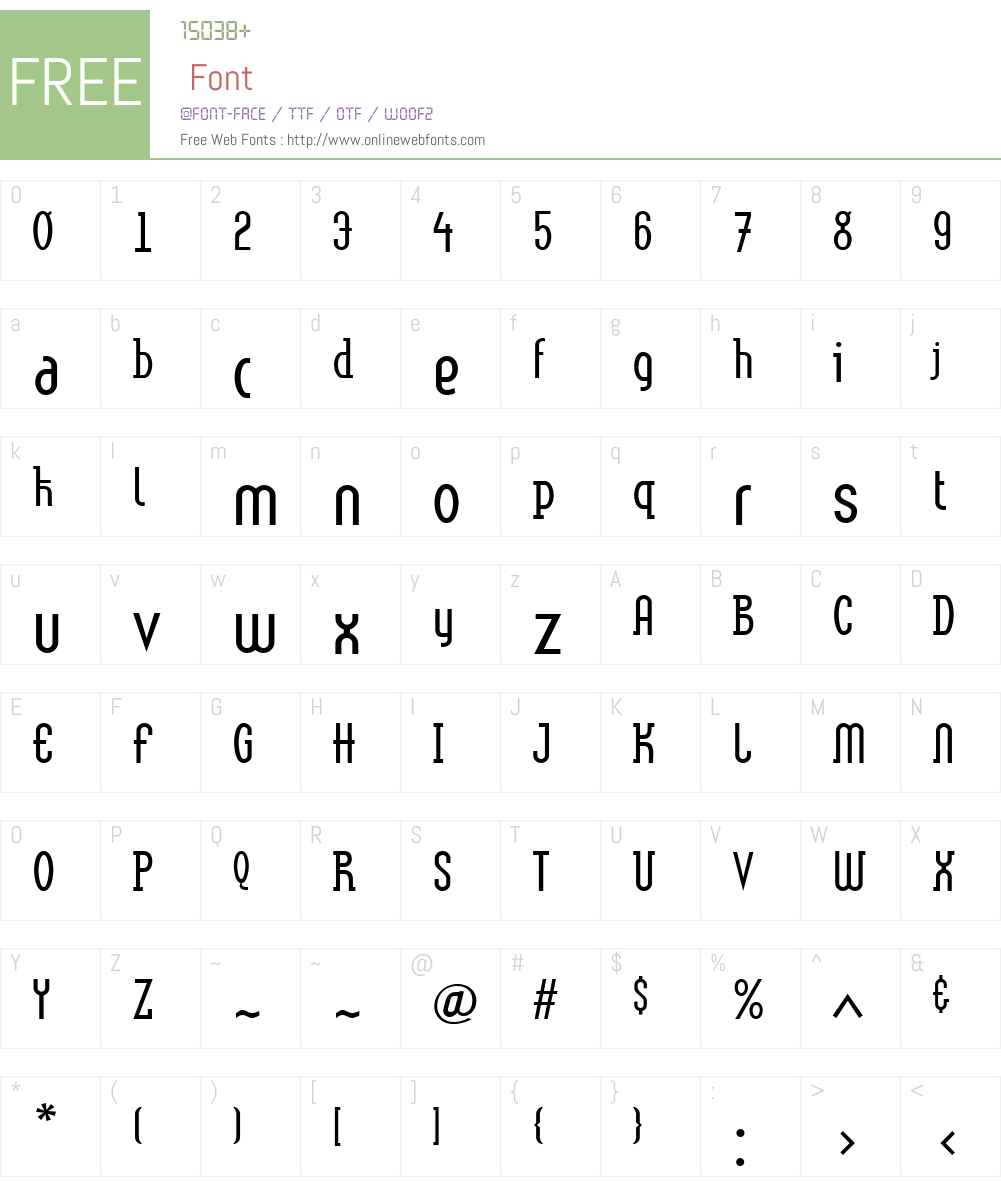 Linotype Method Font Screenshots