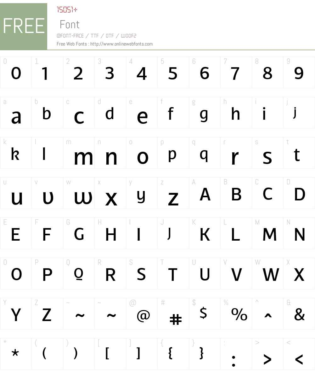 TCFDiple-Medium Font Screenshots