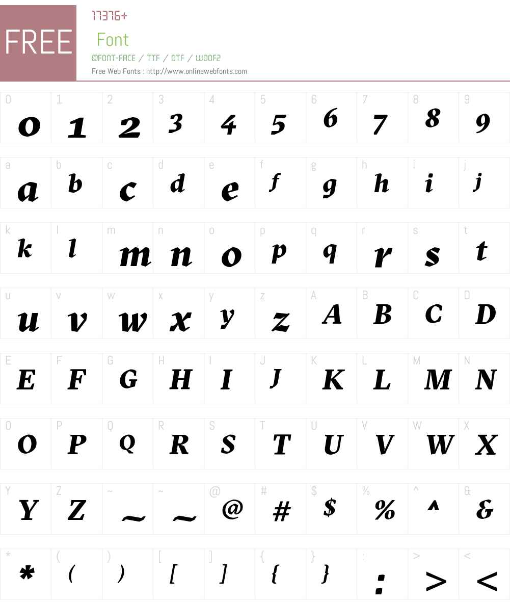 GT Sectra Black Font Screenshots