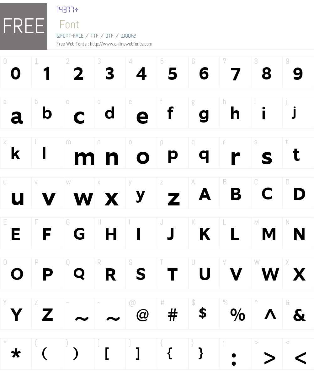 EquipW03-BoldItalic Font Screenshots