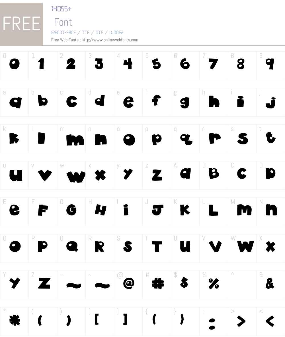 akaDylan Plain Font Screenshots