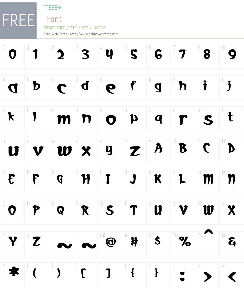 Deep Shadows Font Screenshots