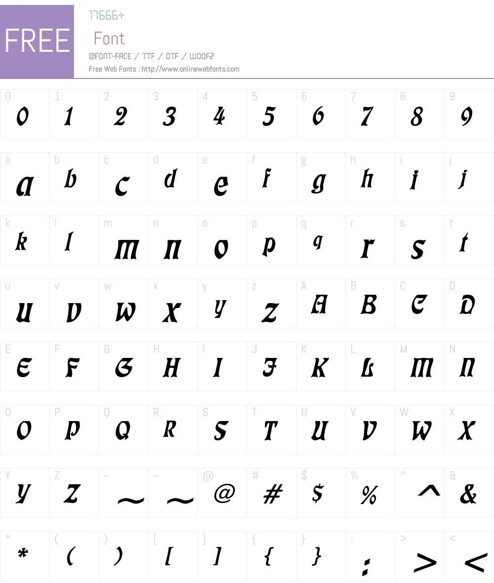 Freedom Font Screenshots