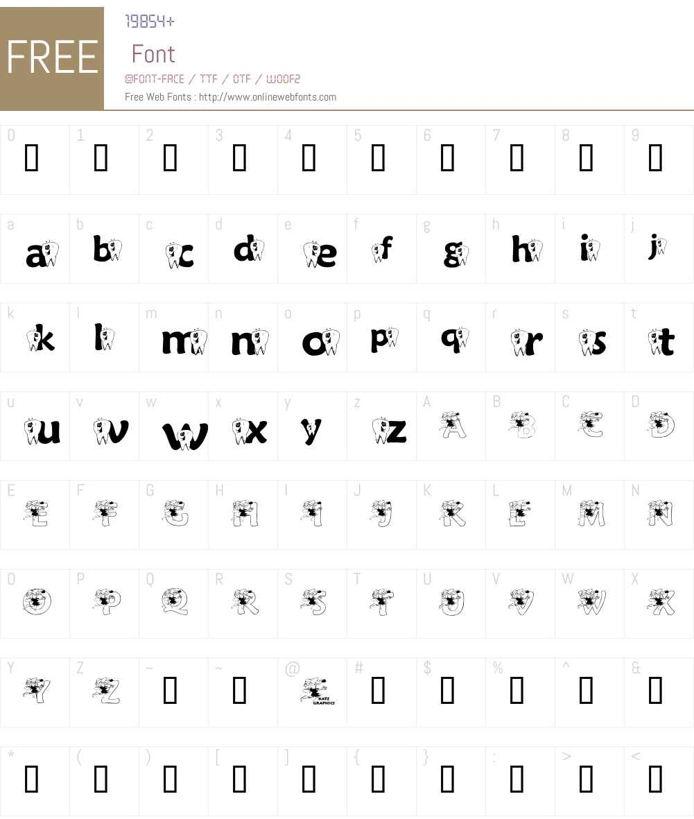 KGFAIRY Font Screenshots