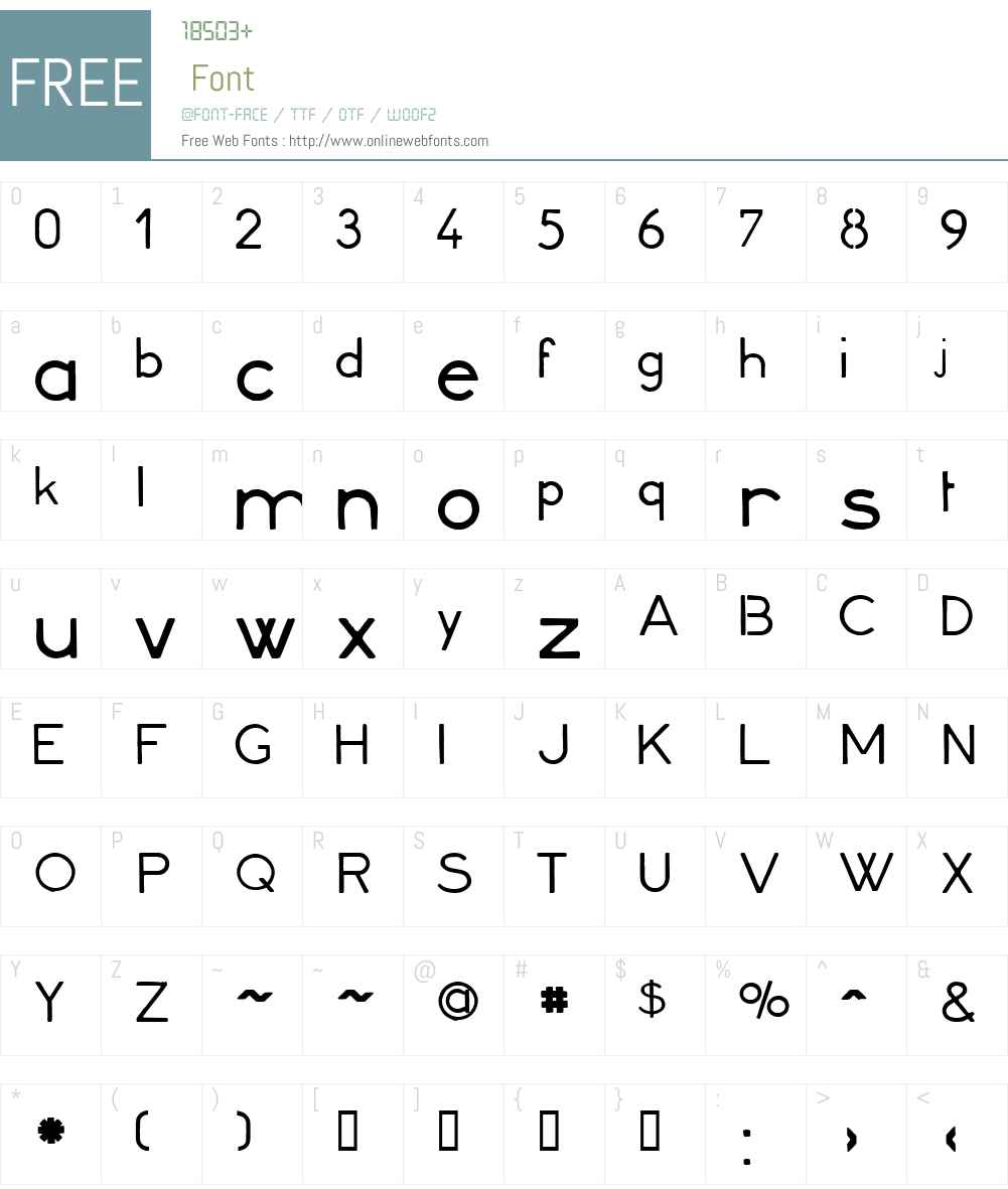 Minerva16 Font Screenshots