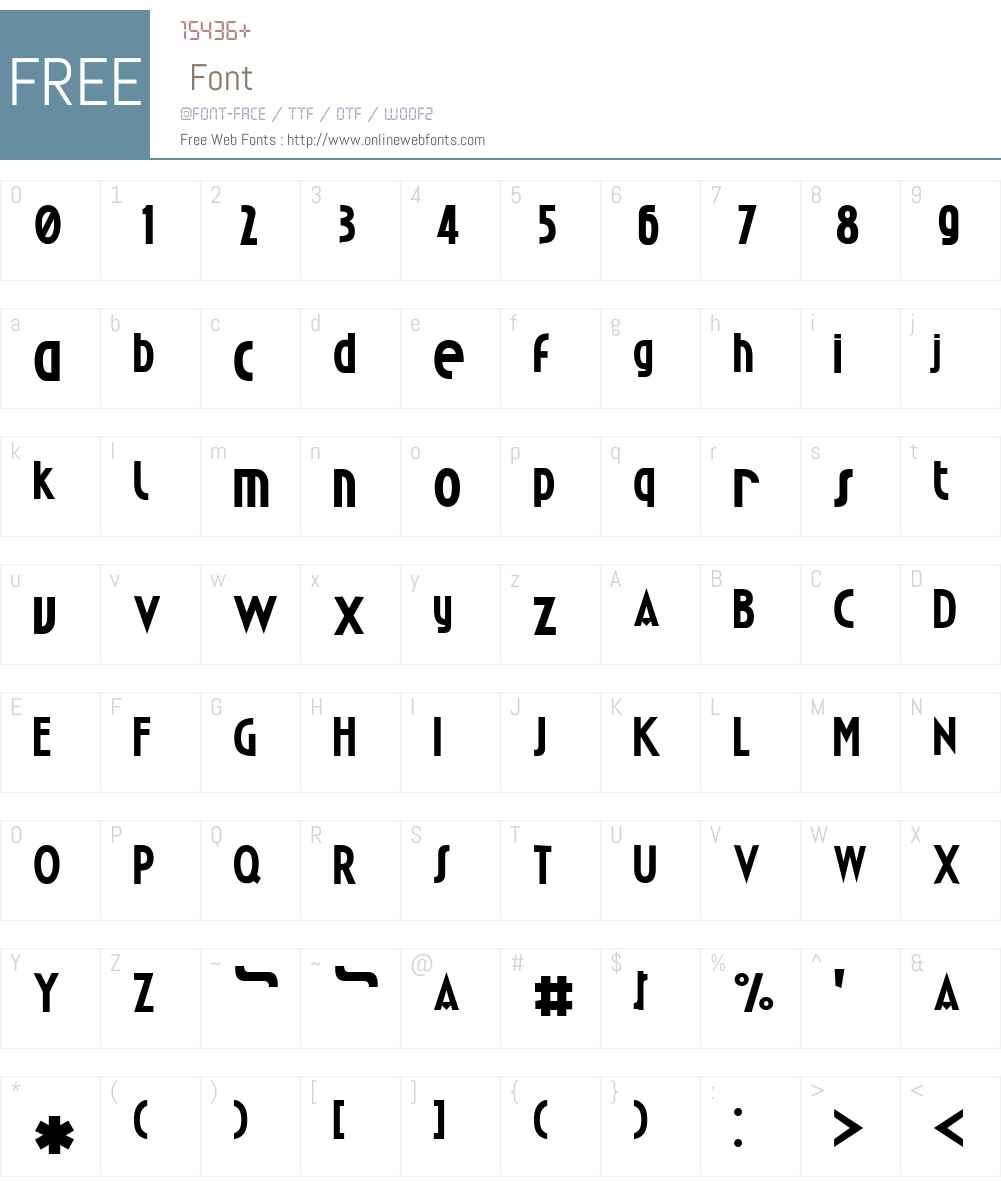 Passja Font Screenshots