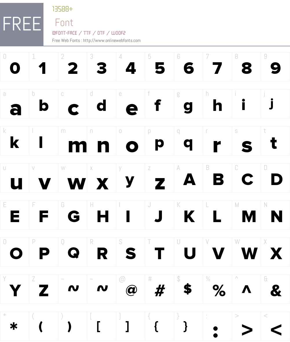 Proxima Nova Font Screenshots