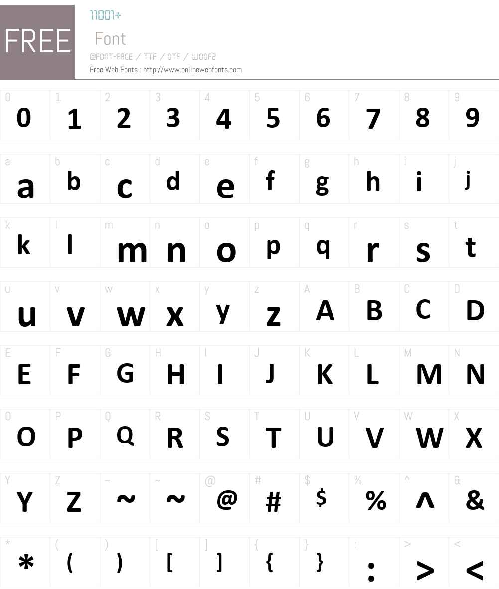 Calibri Font Screenshots