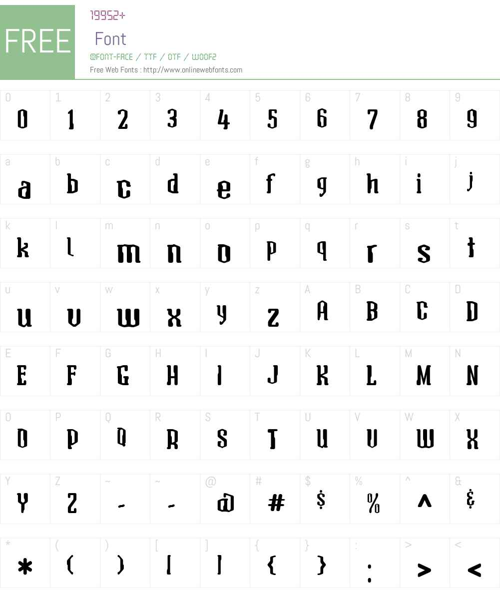 AtomicSerifW01-Bold Font Screenshots