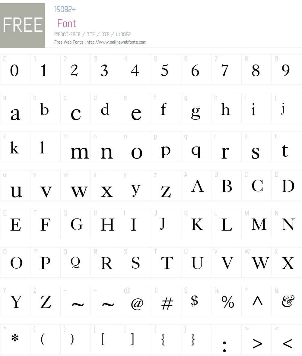 Kings Caslon Font Screenshots