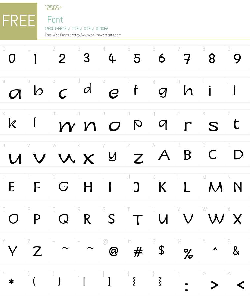 LinotypeCharonW01-Regular Font Screenshots