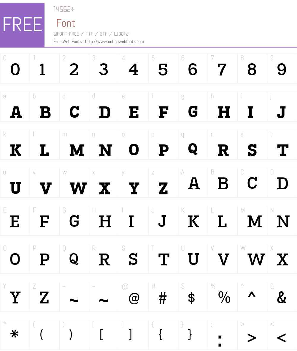 MadawaskaW00-SmallcapsSmBd Font Screenshots