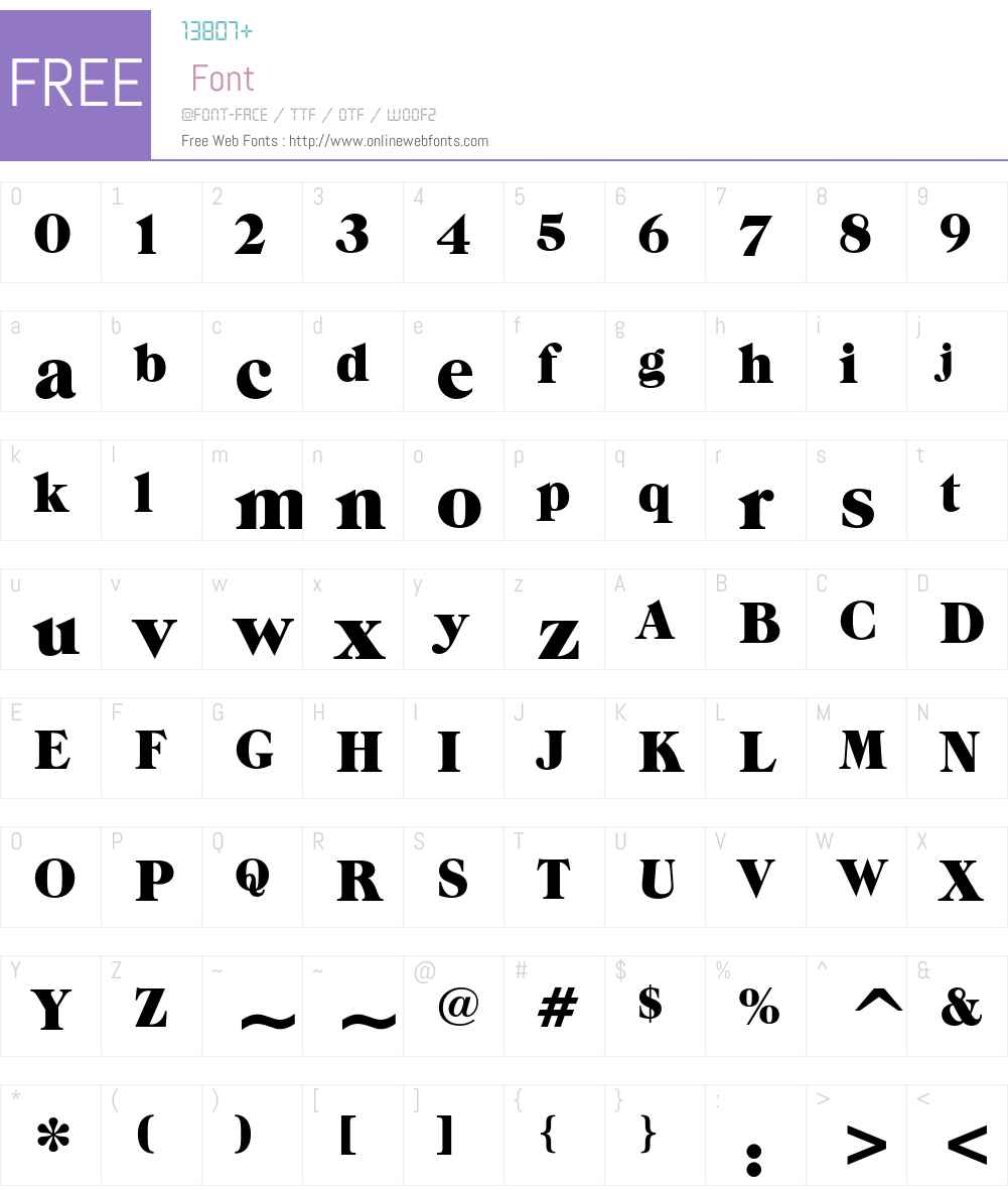 ITC Grouch Font Screenshots