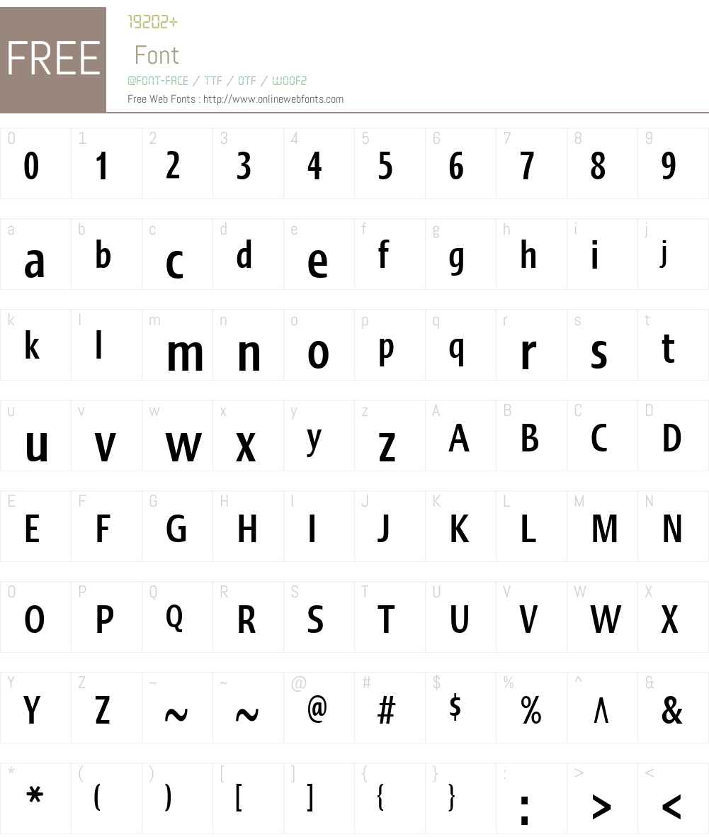 LinotypeErgoW01-BoldCm Font Screenshots