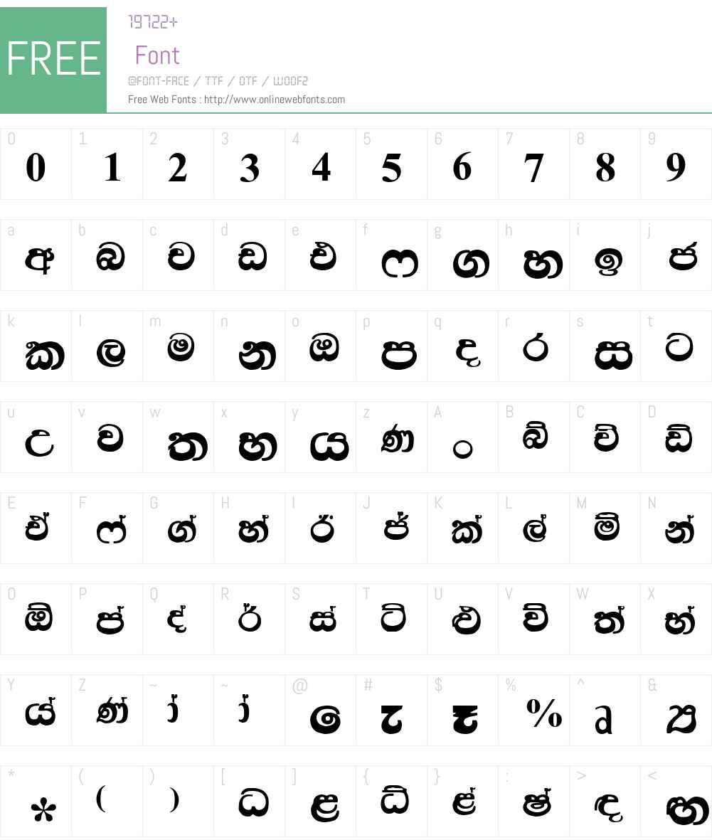 Kandy Font Screenshots