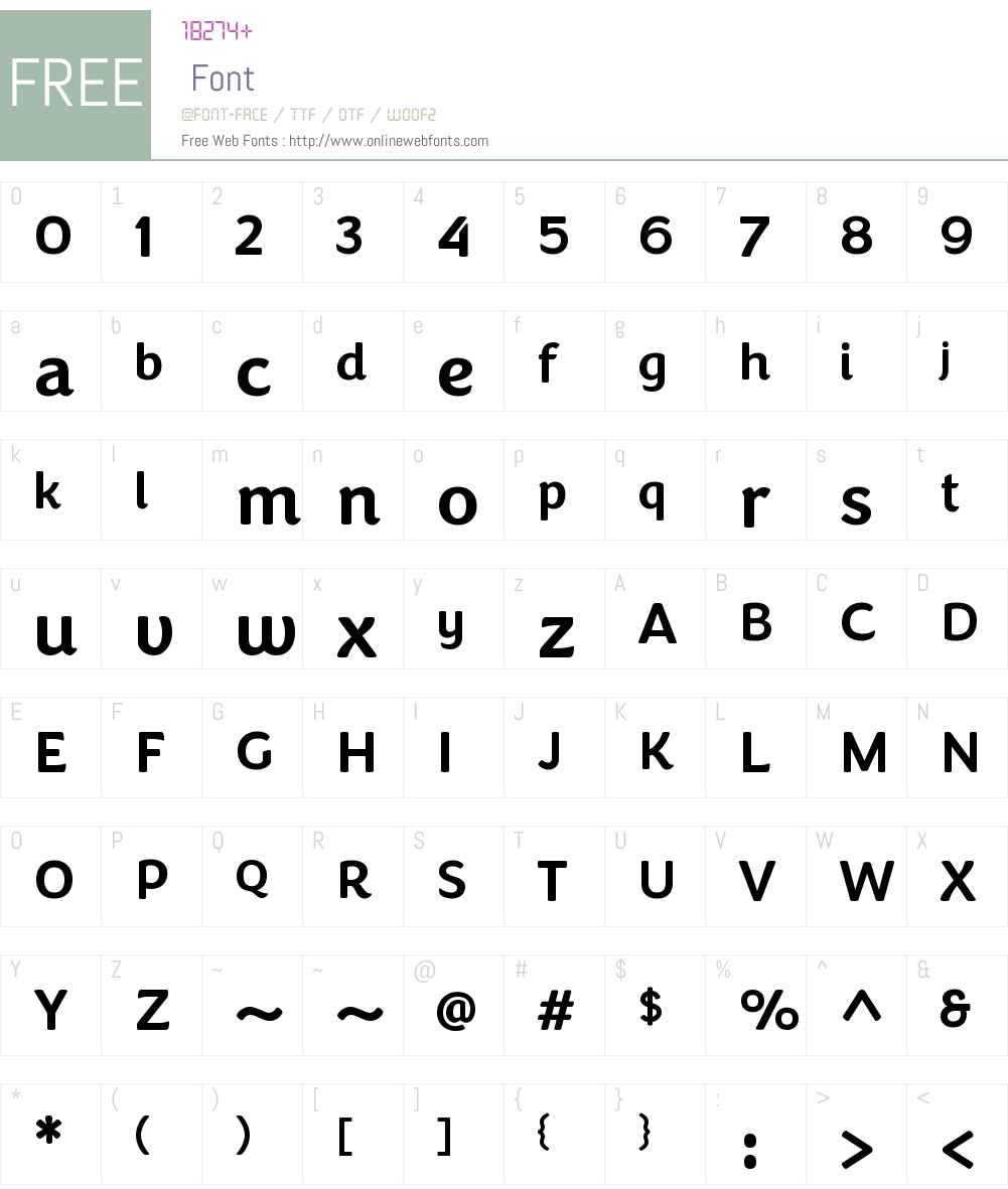 CongenialW00-Medium Font Screenshots