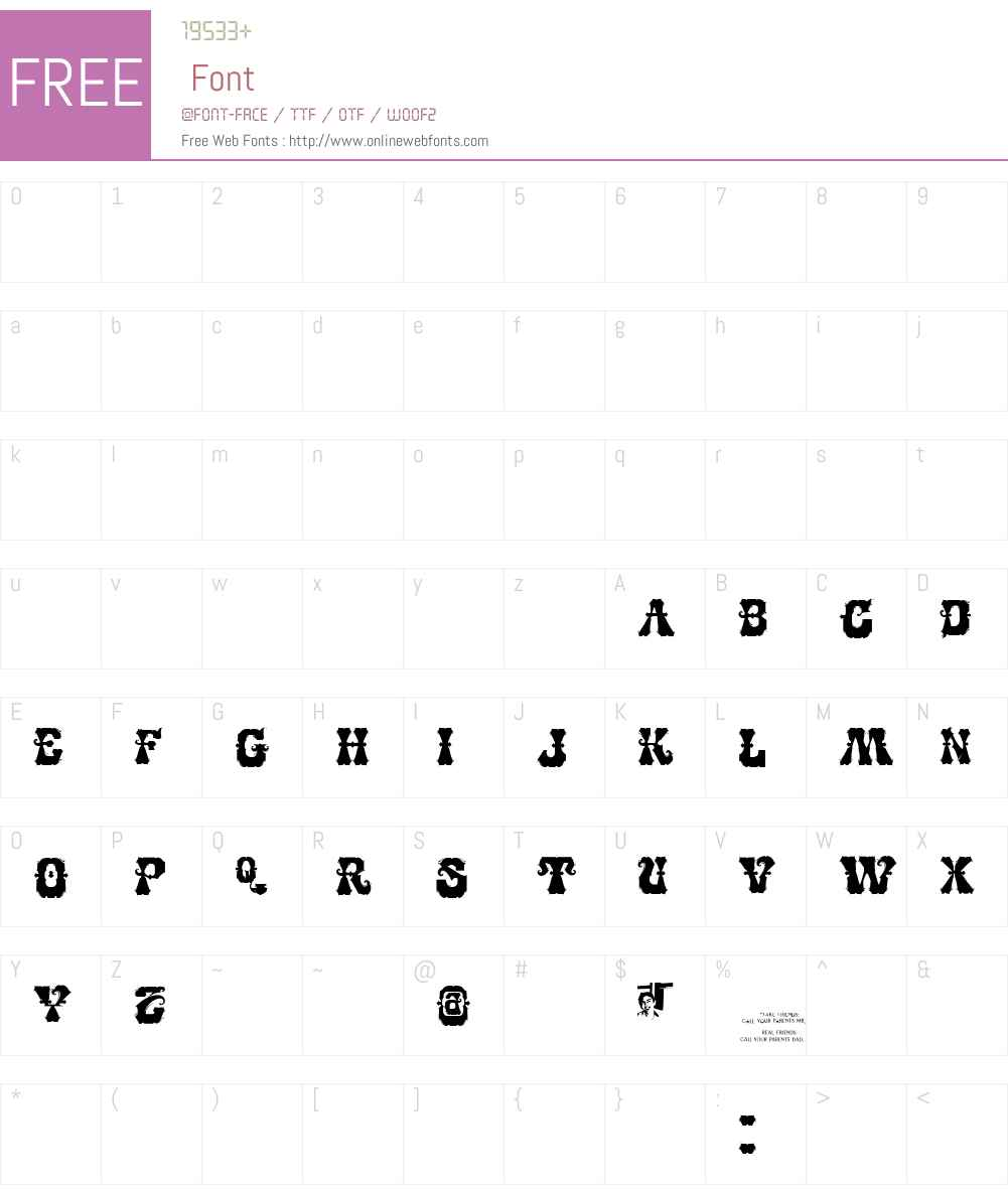CHASE ZEN BASMATI Font Screenshots