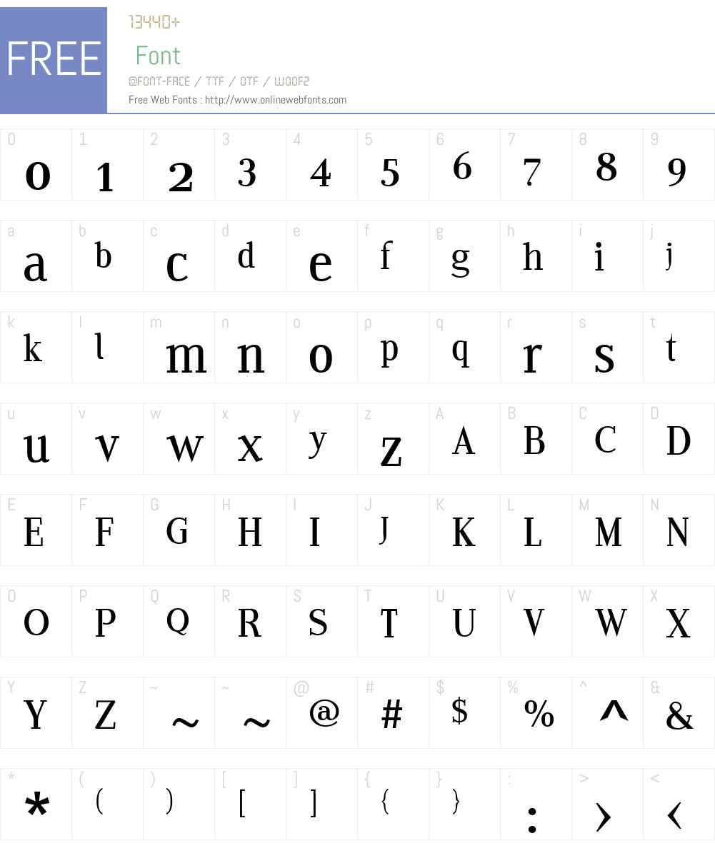 EditoW01-CRegular Font Screenshots